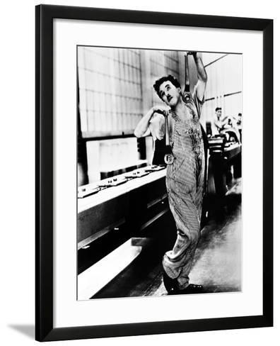 Chaplin: Modern Times, 1936--Framed Art Print