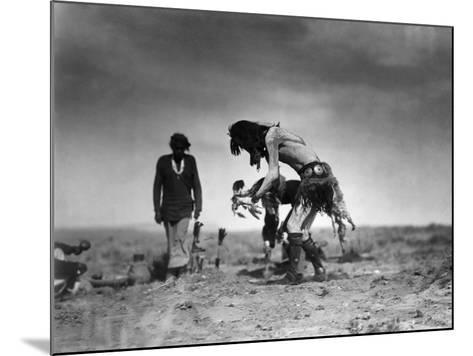 Yeibichai Ceremony, c1905-Edward S^ Curtis-Mounted Giclee Print