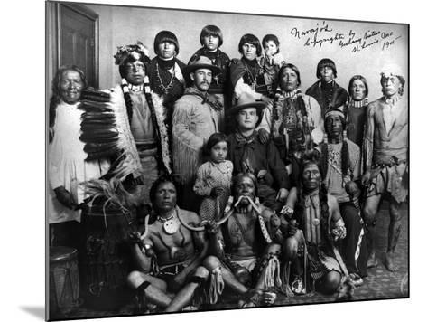 Pueblo Group, 1904--Mounted Giclee Print