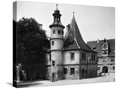 Germany: Rothenburg--Stretched Canvas Print