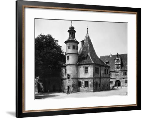 Germany: Rothenburg--Framed Art Print
