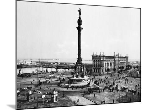 Spain: Barcelona--Mounted Giclee Print