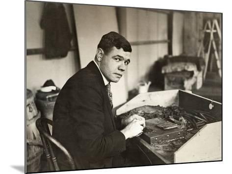 George H Ruth (1895-1948)--Mounted Giclee Print