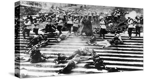 Battleship Potemkin, 1925-Sergei Eisenstein-Stretched Canvas Print