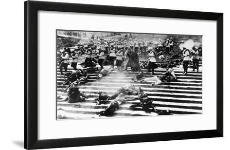 Battleship Potemkin, 1925-Sergei Eisenstein-Framed Art Print
