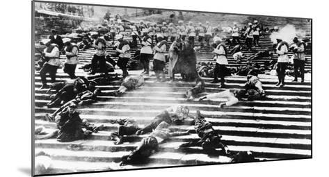 Battleship Potemkin, 1925-Sergei Eisenstein-Mounted Giclee Print