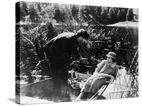Film: Sunrise, 1927-Fredrich Wilhelm Murnau-Stretched Canvas Print