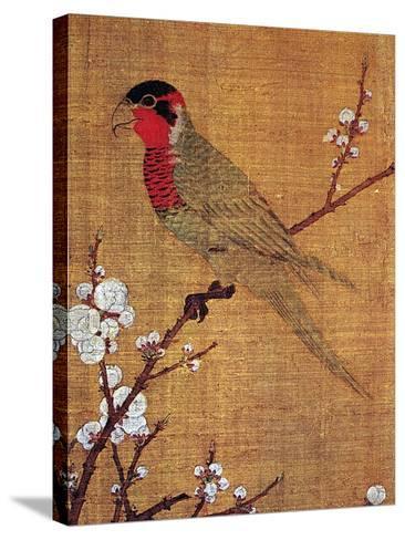 China: Parakeet-Emperor Hui-tsung-Stretched Canvas Print