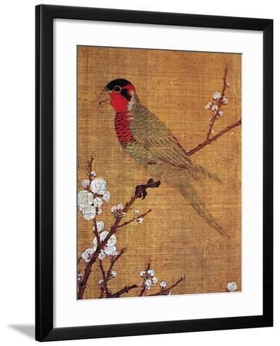 China: Parakeet-Emperor Hui-tsung-Framed Art Print