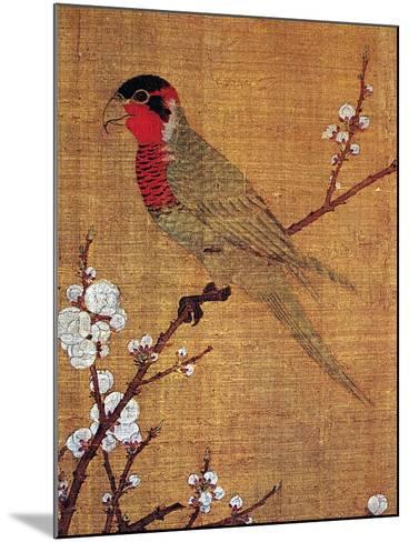 China: Parakeet-Emperor Hui-tsung-Mounted Giclee Print