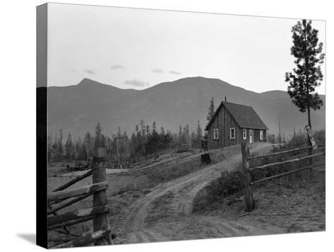 Idaho: Farm, 1939-Dorothea Lange-Stretched Canvas Print