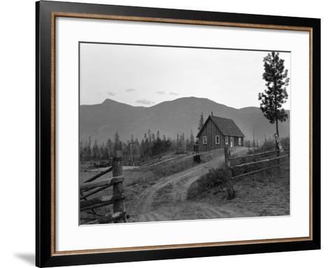 Idaho: Farm, 1939-Dorothea Lange-Framed Art Print