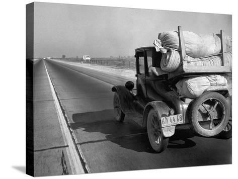 Drought Refugee, 1936-Dorothea Lange-Stretched Canvas Print