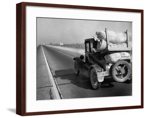 Drought Refugee, 1936-Dorothea Lange-Framed Art Print