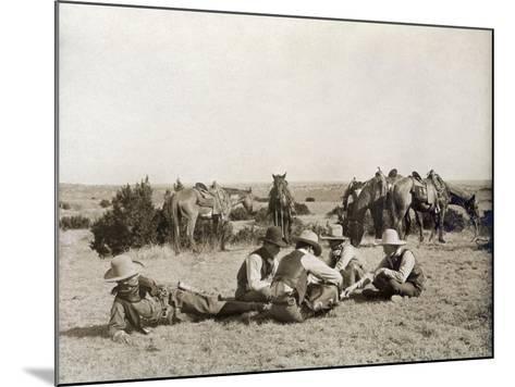 Texas: Cowboys, c1906-Erwin Evans Smith-Mounted Giclee Print