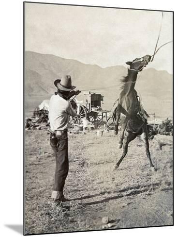 Texas: Cowboy, c1910-Erwin Evans Smith-Mounted Giclee Print