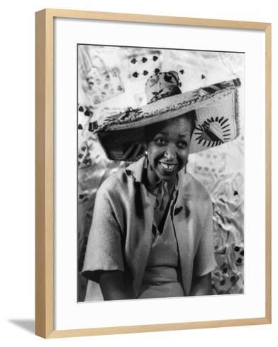 Ethel Waters (1896-1977)-Carl Van Vechten-Framed Art Print