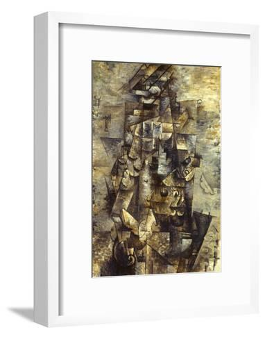 Braque: Man with a Guitar-Georges Braque-Framed Art Print