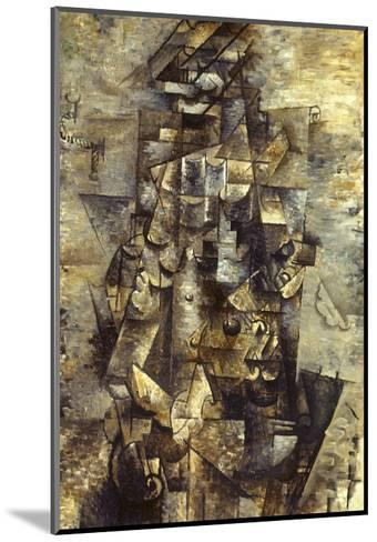 Braque: Man with a Guitar-Georges Braque-Mounted Giclee Print