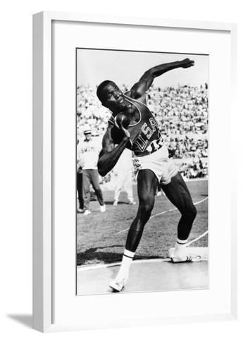 Rafer Johnson (1935-)--Framed Art Print