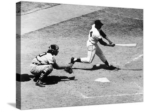 Willie Mays (1931-)--Stretched Canvas Print