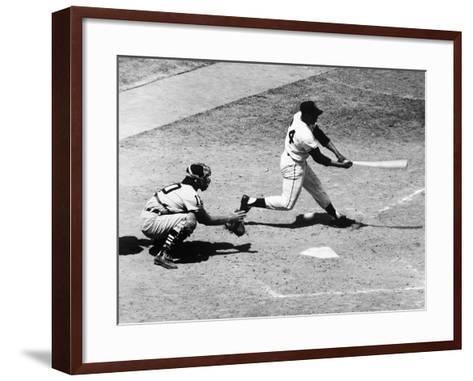 Willie Mays (1931-)--Framed Art Print