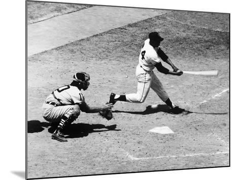Willie Mays (1931-)--Mounted Giclee Print