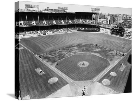 Baseball Game, c1953--Stretched Canvas Print