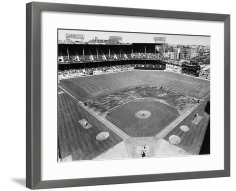 Baseball Game, c1953--Framed Art Print