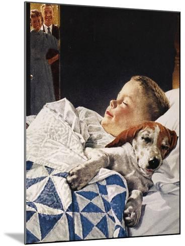 Dog Food Ad, 1956--Mounted Giclee Print