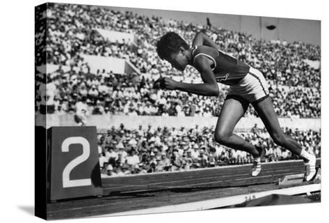 Wilma Rudolph (1940-1994)--Stretched Canvas Print