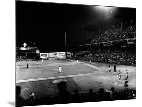 Ebbets Field, 1957--Mounted Giclee Print