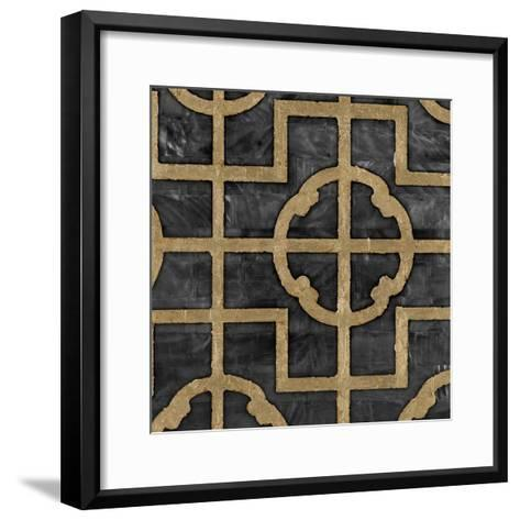 Shell Ebony-Regina-Andrew Design-Framed Art Print