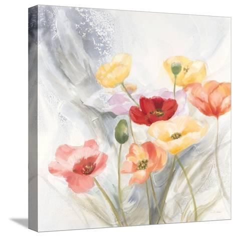 Breezy Poppies 1-DB Studios-Stretched Canvas Print