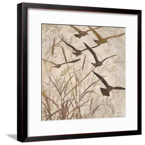 Birds in Flight 1-Melissa Pluch-Framed Art Print