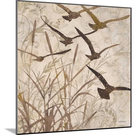 Birds in Flight 1-Melissa Pluch-Mounted Art Print