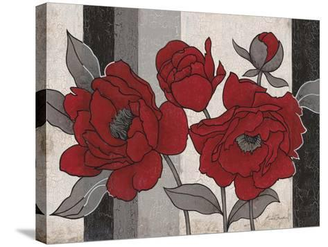 Roses and Stripes 2-Ariane Martine-Stretched Canvas Print