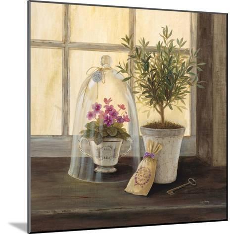 Lavender Window Garden-Angela Staehling-Mounted Art Print