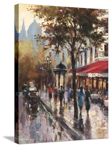 Avenue des Champs-Elysees 1-Brent Heighton-Stretched Canvas Print