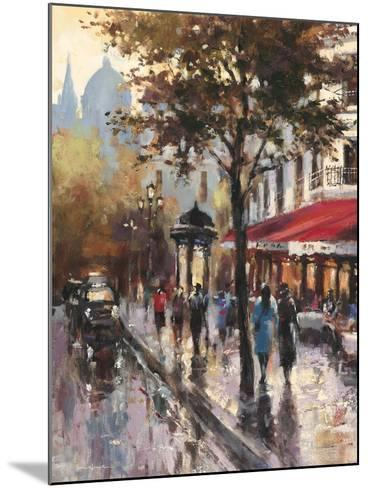 Avenue des Champs-Elysees 1-Brent Heighton-Mounted Art Print