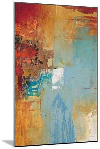 Aqua Illusion 2-Gabriela Villarreal-Mounted Art Print