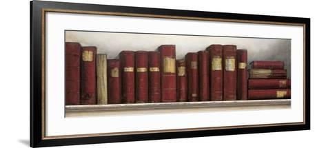 Study in Red-Arnie Fisk-Framed Art Print