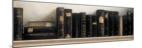Study in Black-Arnie Fisk-Mounted Art Print