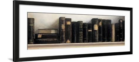 Study in Black-Arnie Fisk-Framed Art Print
