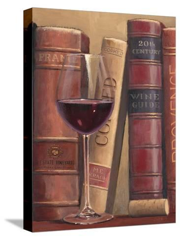Books of Wine-James Wiens-Stretched Canvas Print
