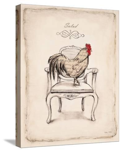 Salud Chick-Emily Adams-Stretched Canvas Print