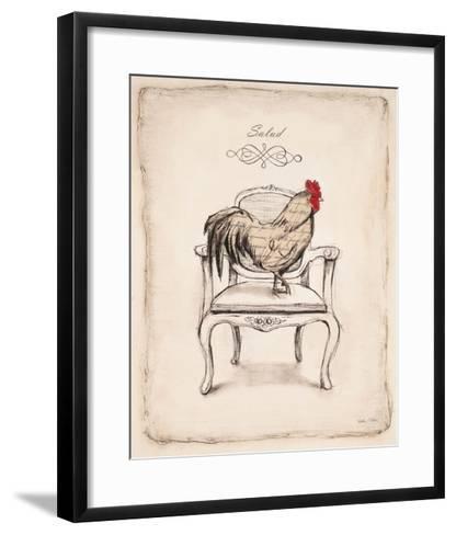 Salud Chick-Emily Adams-Framed Art Print