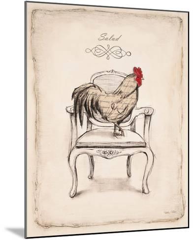Salud Chick-Emily Adams-Mounted Art Print
