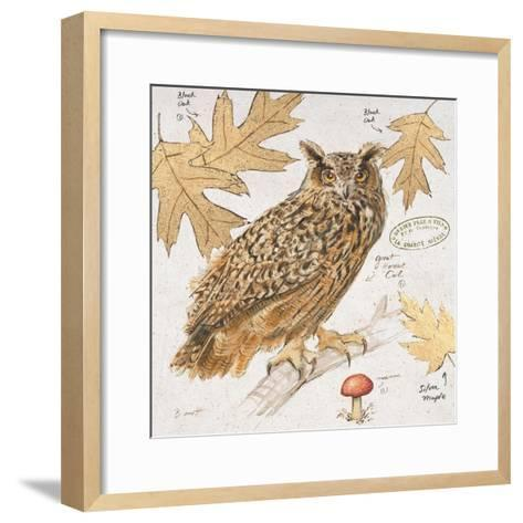 Great Horned Owl-Chad Barrett-Framed Art Print