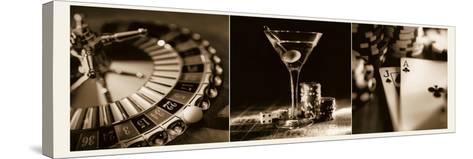 Casino Royale 1-Julie Greenwood-Stretched Canvas Print